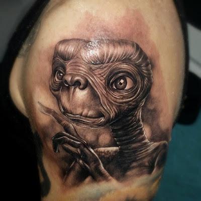 Tatuaje de ET