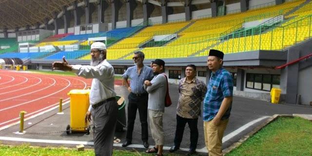 Zakir Naik Tinjau Stadion Patriot Bekasi, Akankah Digelar Ceramah Disana?