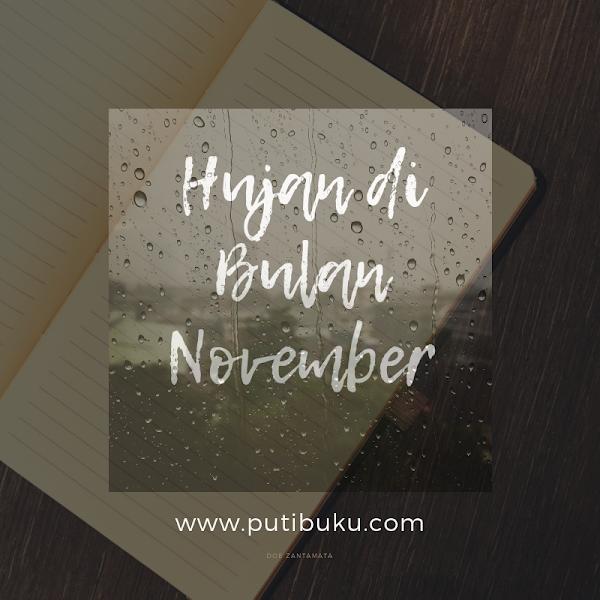 Hujan di Bulan November
