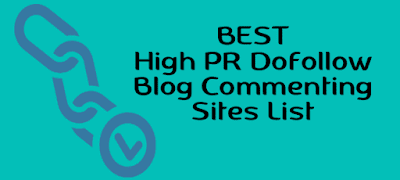 high PR blog comment site list