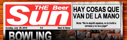 Dominical de verano con noticias sobre cerveza. Pulsa aquí si no te carga para leer el periódico