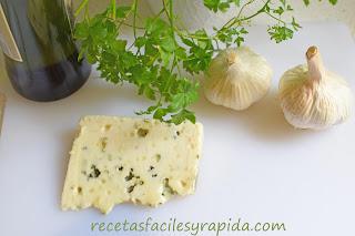 Salsa de queso azul y ajo