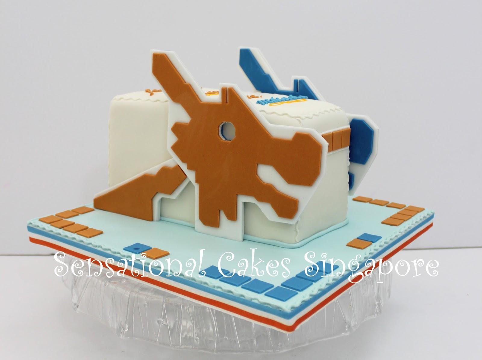 Cake Art Mo : The Sensational Cakes: toa payoh dragon theme playground ...