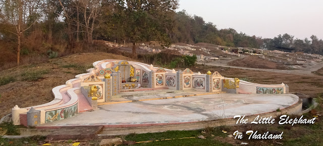 Chinese graves in Nan - Thailand