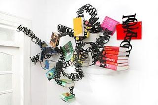 Diseño creativo de librero