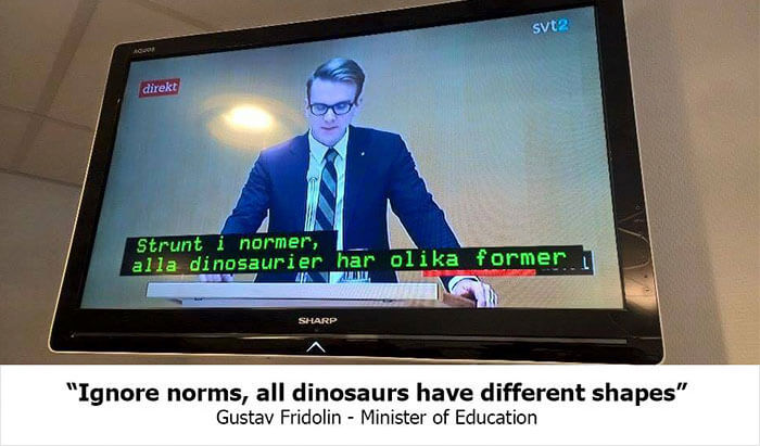 Swedish TV Puts Subtitles From A Children's Show Over A Political Debate By Accident, And It's Amazing