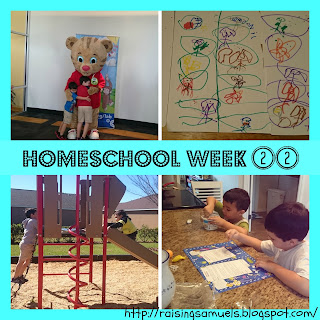 Homeschool Week 22
