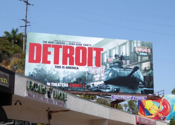 Detroit movie billboard