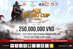 EGO Media thông báo tổ chức Bé Yêu Cup 2020 - Mười năm ghi dấu!