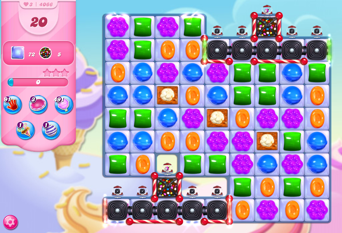 Candy Crush Saga level 4066