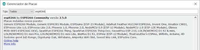 ESP8266 IDE Arduino