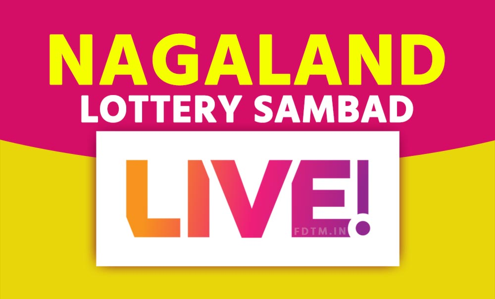 Nagaland State Live Lottery Results Video
