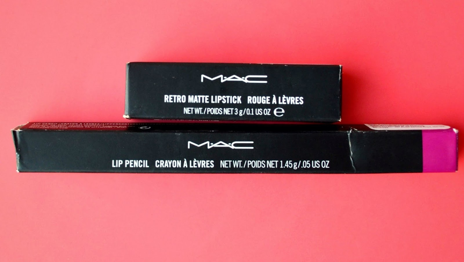 Super In Style And Trend: MAC FLAT OUT FABULOUS and MAC Lip Liner MAGENTA YQ12
