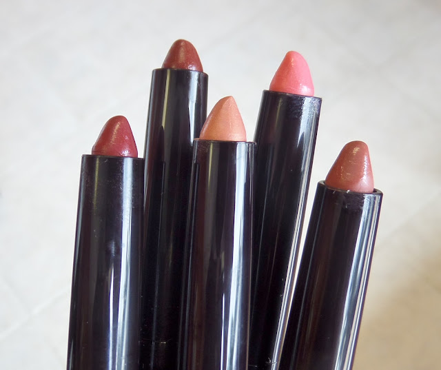 youngblood color-crays sheer lip crayons