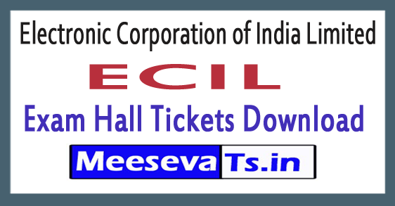 Electronic Corporation of India Limited ECIL Admit Card Download 2019