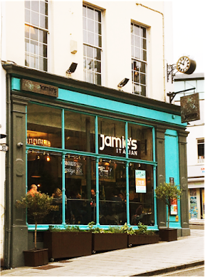 Jamie's Italian, Park Street, Bristol, Set Lunches Bristol, Jamie Oliver, Lunch, Theatre Meal Deals, Clifton