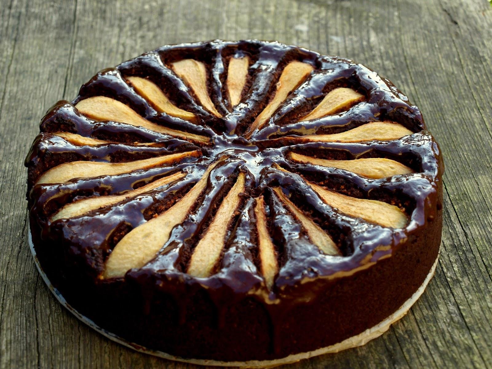 Mocno czekoladowe brownie z burakami- vegańskie bez glutenu