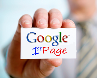 Page One Google search angine