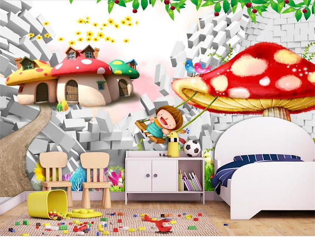 Picture Wallpaper for Walls kids Wall Mural