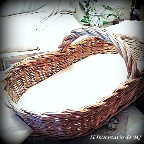 El inventario de mj cestas de mimbre para boda for Como aprovechar una cesta de mimbre