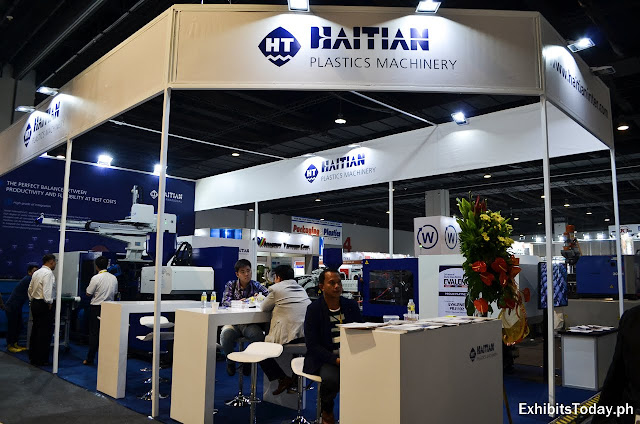 Haitian Plastics Machinery Exhibit Pavilion