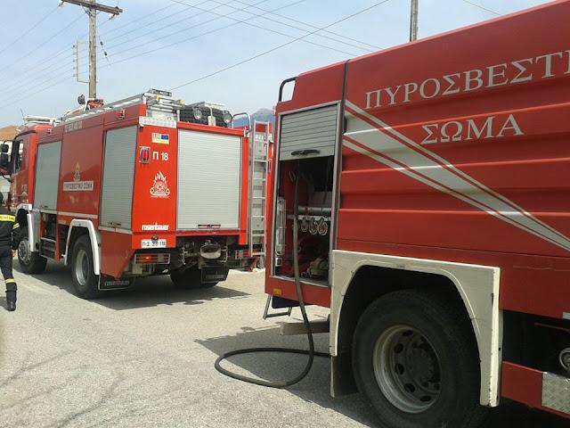 Πυρκαγιά στην Παλαιομάνινα | Νέα από το Αγρίνιο και την ...