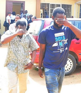 Faces of Runs Guys Who Cloned Gov. Ambode's Phone To Withdraw N50m From Bank