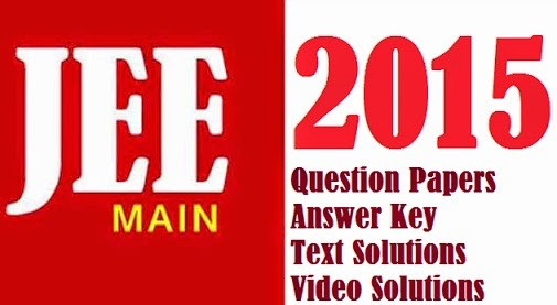 JEE Main 2016 Answer Key Solutions Text Video Aakash Resonance FIITJEE Eenadupratibha Sakshi Education