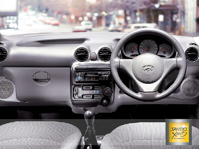 Ford Escape Interior >> Car Images: Hyundai Santro