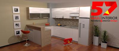 workshop desain interior kediri, pembuatan kitchen set kediri