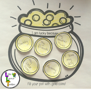 https://www.teacherspayteachers.com/Product/St-Patricks-Day-I-am-Lucky-Pot-of-Gold-1765463