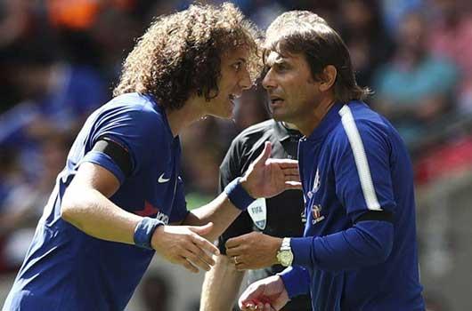 Mâu thuẫn giữa David Luiz và Conte, Abramovich chính thức vào cuộc