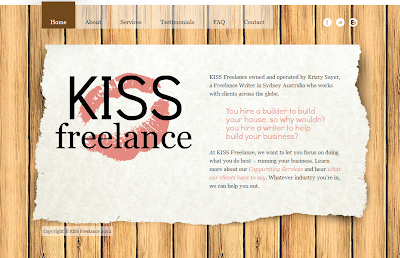 Freelance Copywriter Sydney - KISS Freelance - Kristy Sayer
