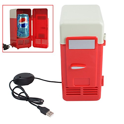 Portable USB Cooler/Warmer Mini Fridge - Genmine