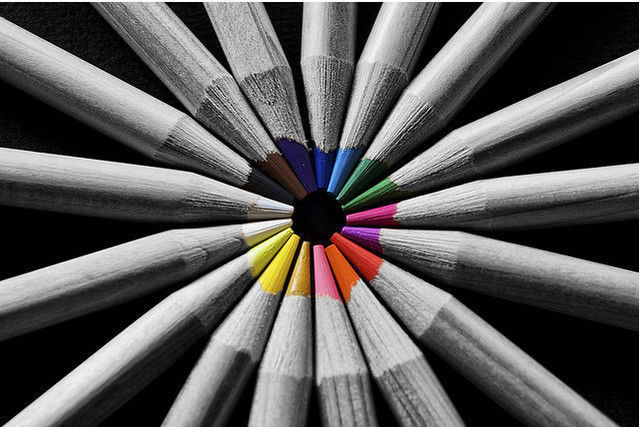 Beautiful color touch black and white photos