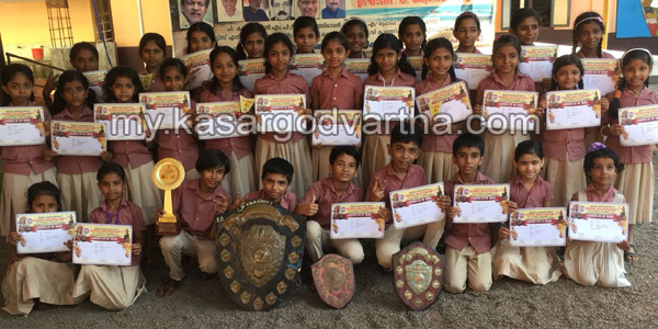 Chalanam, Kerala, Bekal, Sub district, Kalolsavam, Students, Bekal sub district School Kalolsavam; Ambika ALP school champions