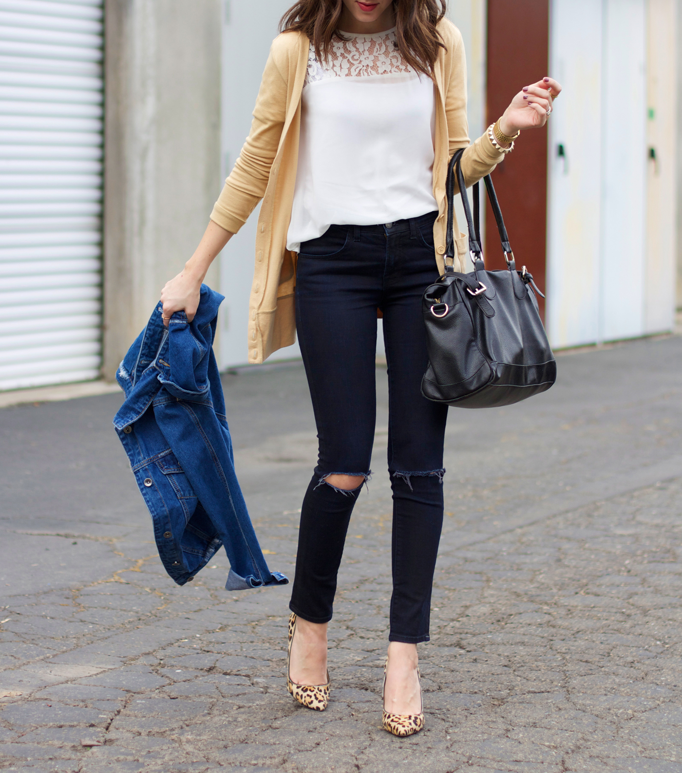 black-white-and-tan-outfit