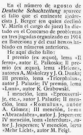 Recorte revista Stadium nº 121 - 18 Septiembre 1915