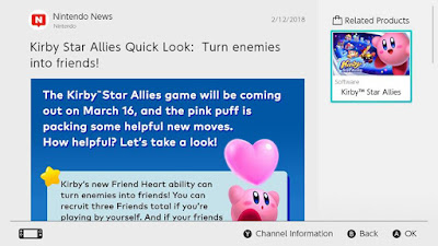 Kirby Star Allies Friend Heart ability Nintendo Switch news