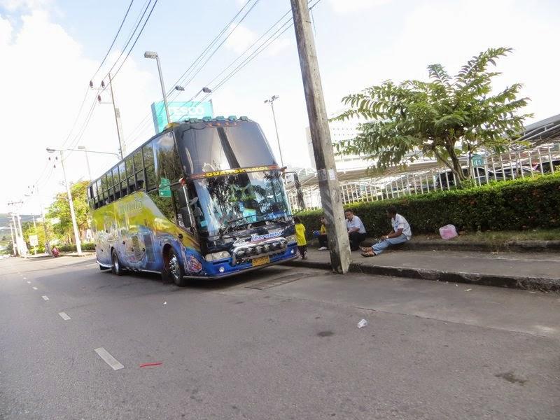 Тюнинг автобус Таиланд