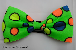 Green Spotty Bow Tie from Theatrical Threads Ltd