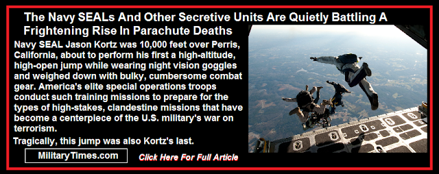 Rise in special Forces parachute deaths