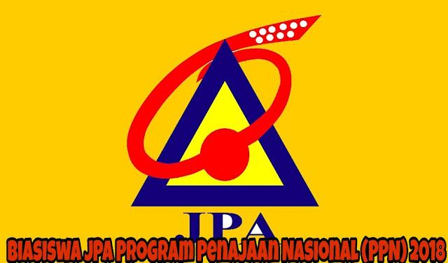 Biasiswa JPA Program Penajaan Nasional (PPN) 2018