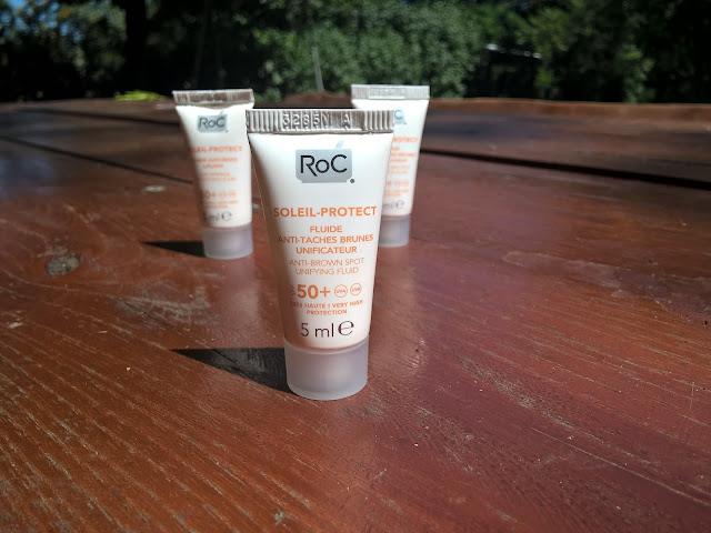 RoC soleil-protect fluide