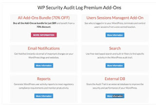 WP Security Audit Log Add ons