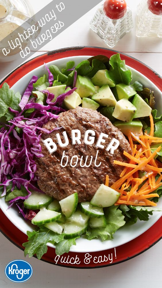 These burger bowls are a lighter way to get your burger fix this summer. They are quick to put together and everyone at the table will be impressed.