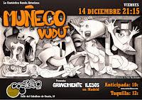 Concierto de Muñeco Vudú en Costello Club