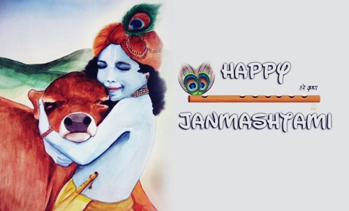 Amazing Bhagwan Krishna Janmashtami HD Wallpapers for free download