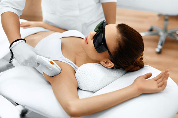 Under Arms & Arms Hair Removal