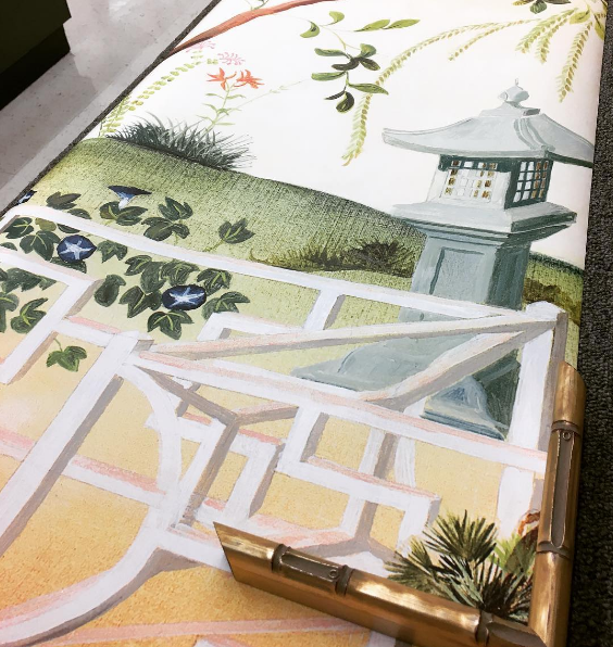 Color Outside The Lines Chinoiserie Wallpapers